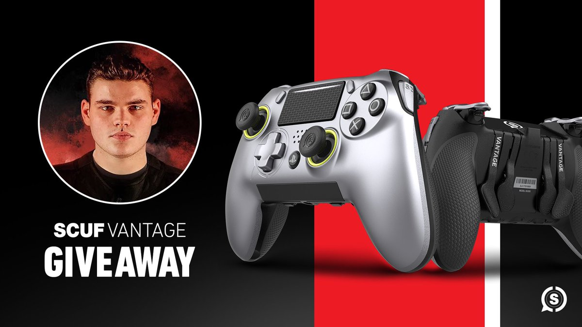 GIVEAWAY  RT and follow myself & @ScufGaming for a chance to win a Scuf Vantage! Ends 2/18