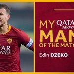 Retweet if Edin Dzeko was your #ASRoma @QatarAirways Man of the Match against Chievo