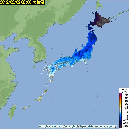 氷点下30度を突破して闇堕ちしてしまう北海道