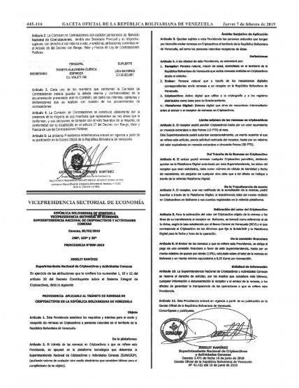 Información sobre la criptomoneda Petro. Dy6osOuXgAEINJS