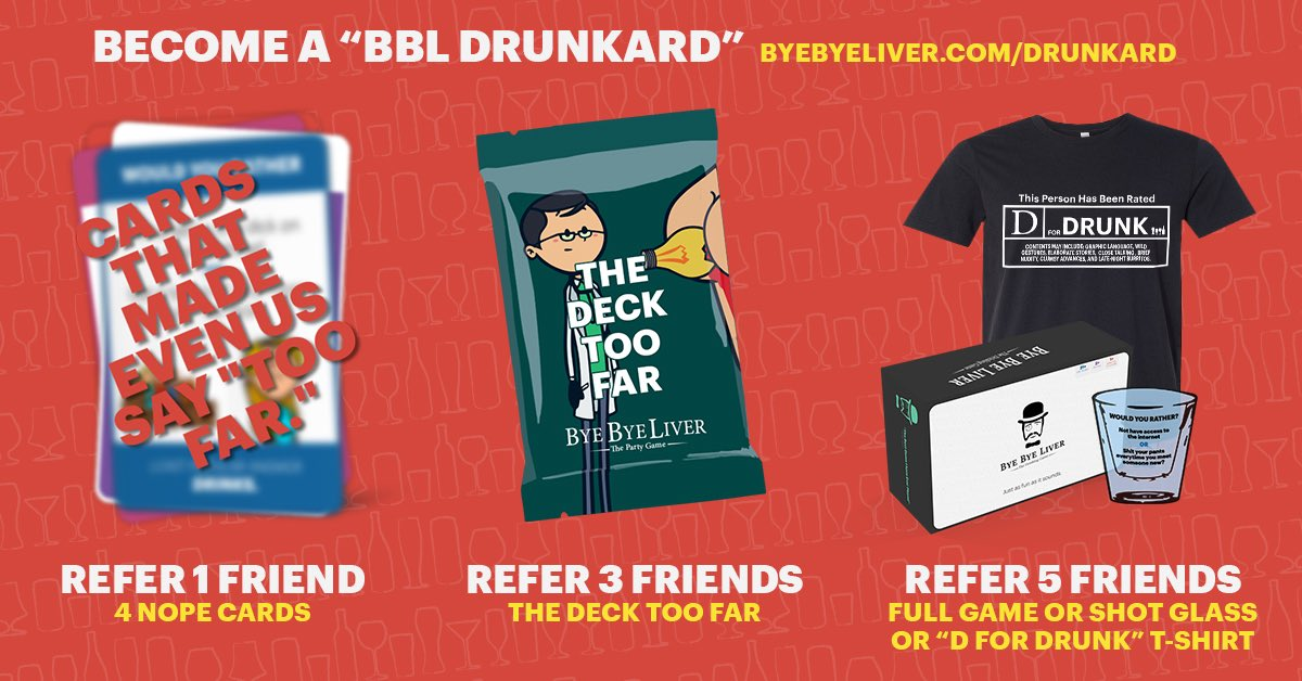 Bye Bye Liver: The Party Game (@ByeByeLiverGame) | تويتر