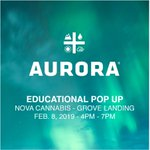 Image for the Tweet beginning: Tonight @Aurora_MMJ will be joining