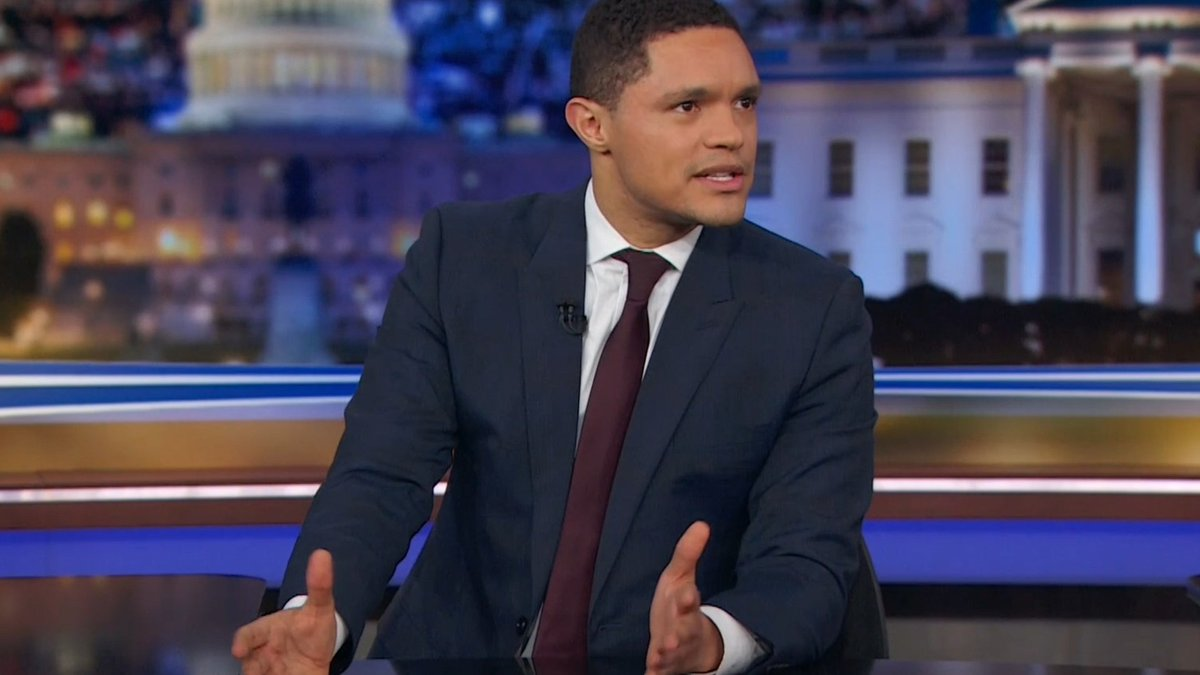Trevor Noah's thoughts on the whole Liam Neeson controversy are so good.  (via @RA_Sikdar)