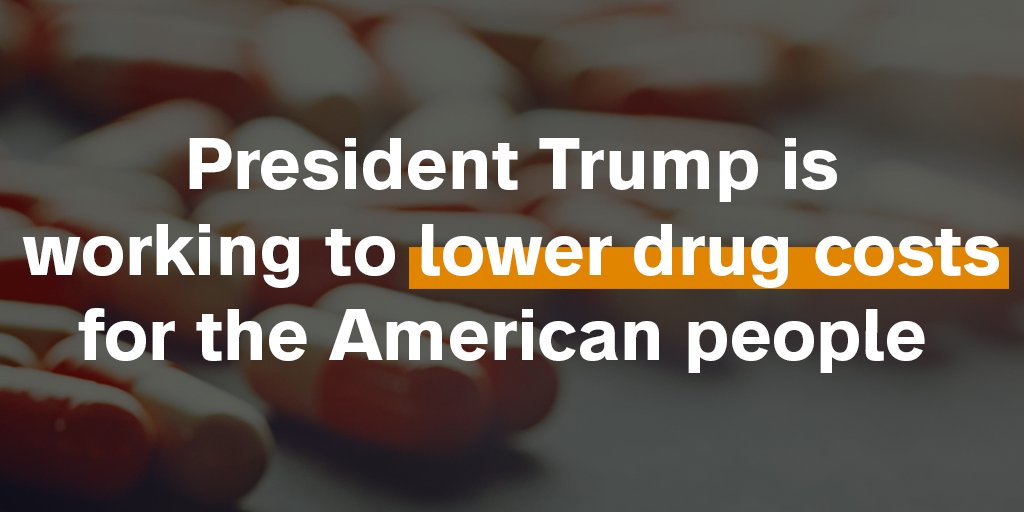 The Trump administration has made a very important step forward in lowering drug costs and fixing the broken economics of drug pricing that has caused huge increases in out-of-pocket costs. Read more:  https://t.co/rbYxyIURR5