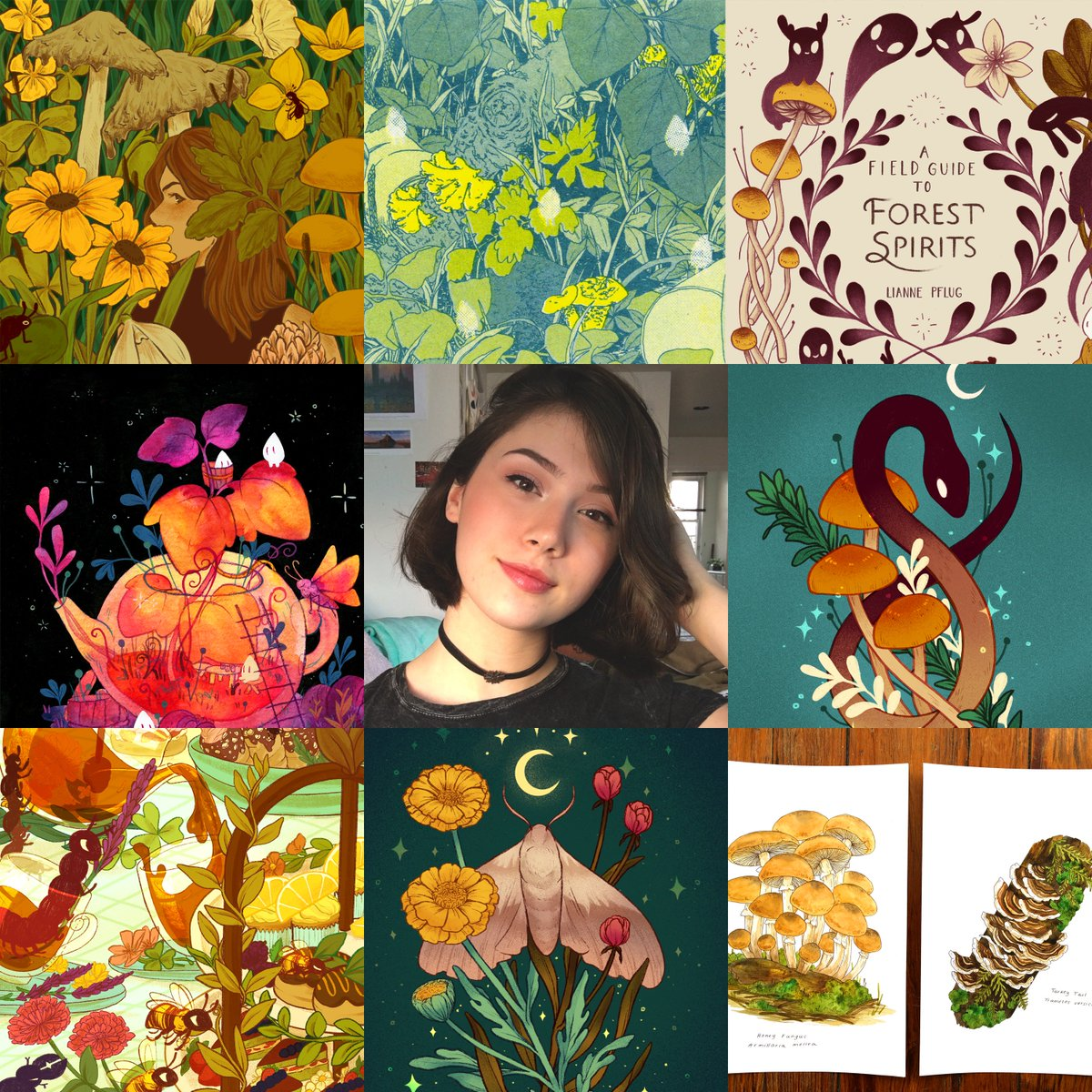 i love when #artvsartist goes around!! 🌿🌻 #artvsartist2019