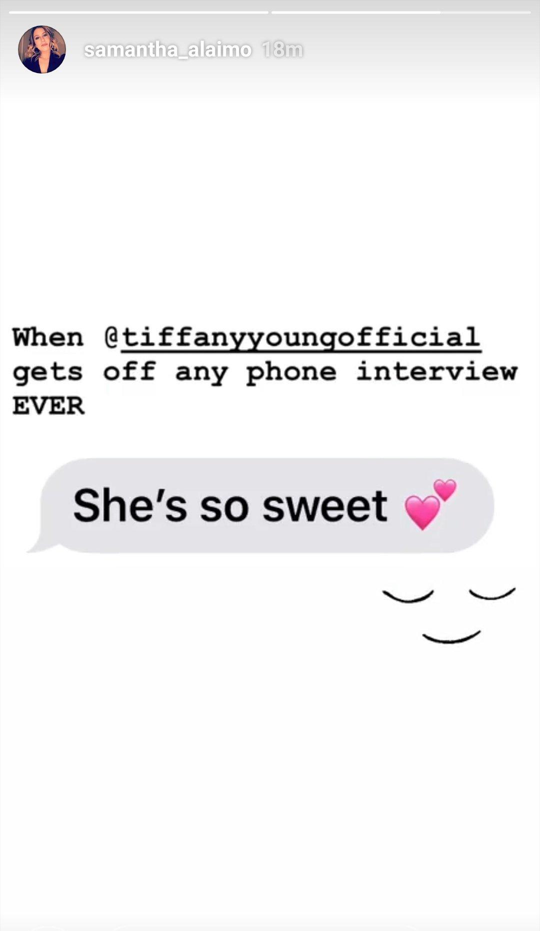 인터뷰 할때마다 스윗하다는 얘기듣는 파니��  #TiffanyYoung  #BestSoloBreakOut  #iHeartAwards https://t.co/vdTGuZJzK0