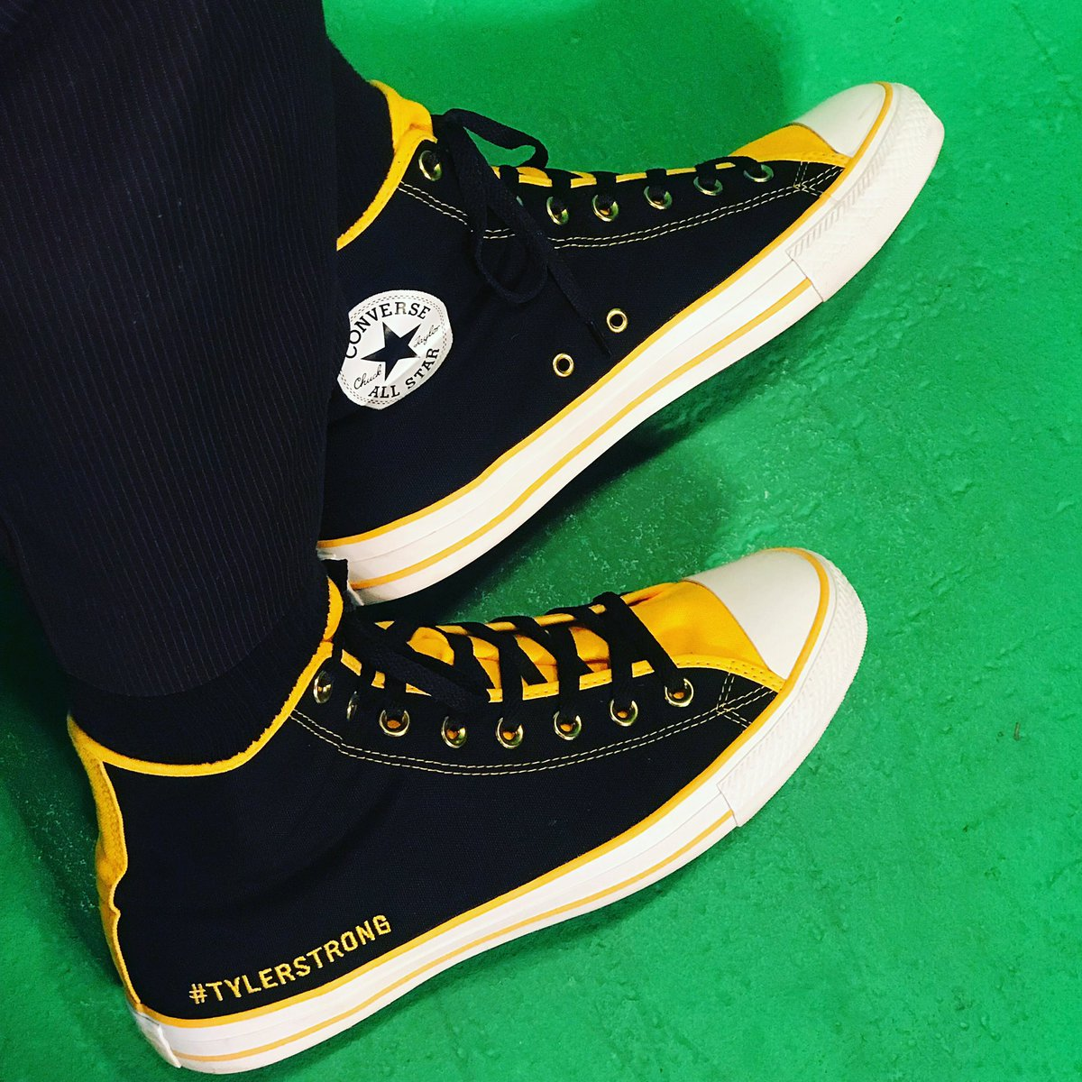 ... online and made custom  TylerStrong  converse Chuck Taylor s to honor   thetylertrent show my  Purdue Colors  BoilerUp  HammerDown  CancerSucks   Kat9798 ... ea7f23ff6