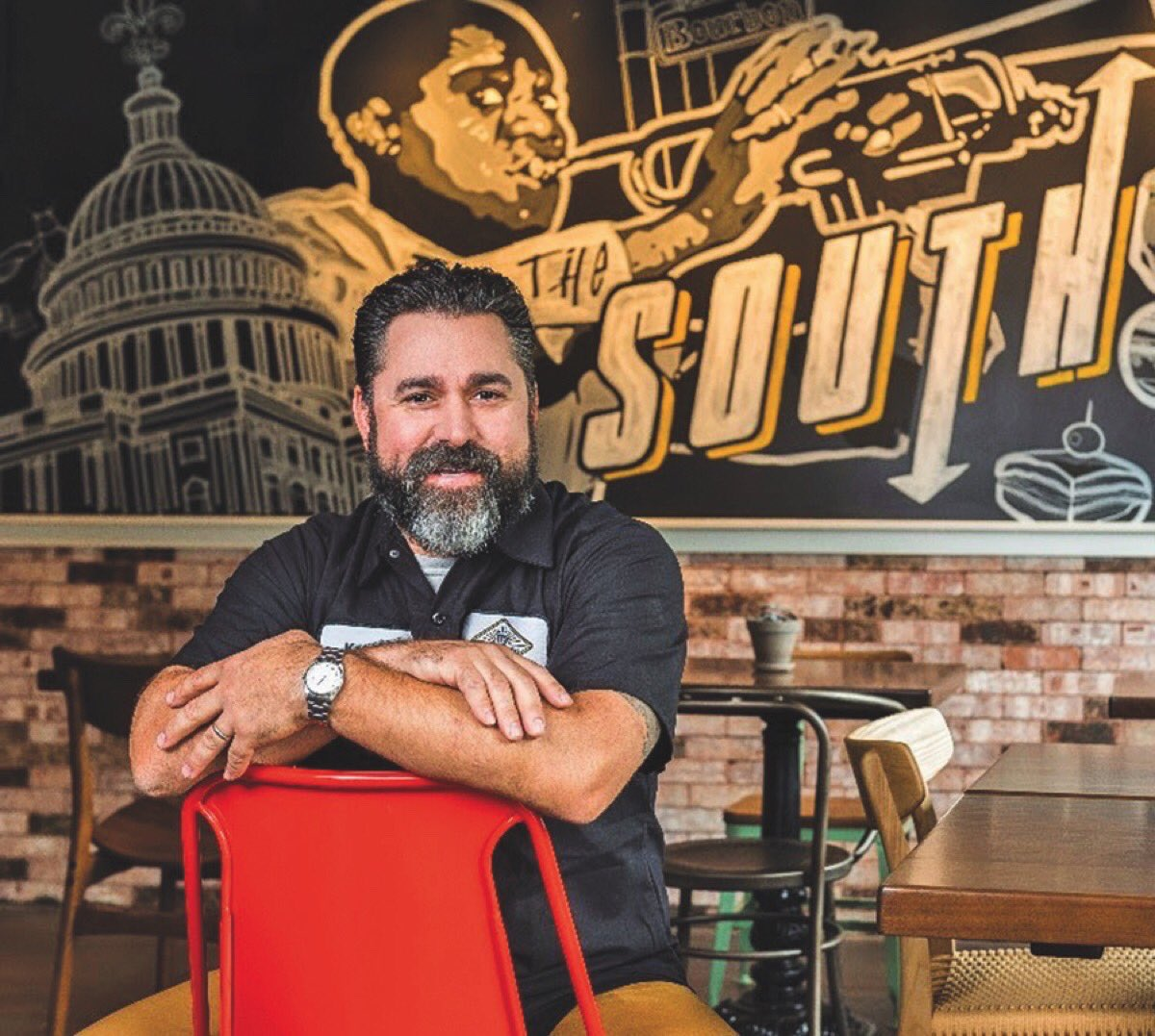 Tmrw in #TheDish: @ChefDavidGuas joins us on @CBSThisMorning Saturday https://t.co/YebgblMfUz