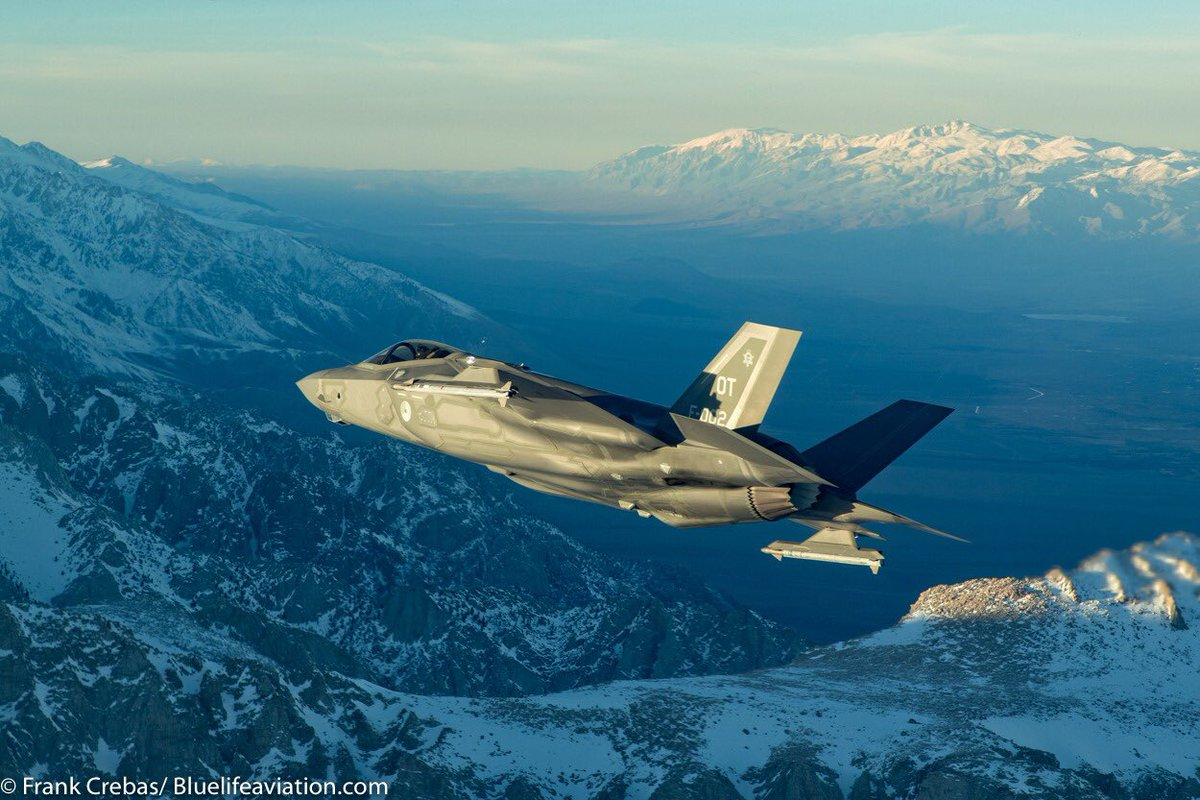 Happy Burner / F-35 Friday! pics by @FrankCrebas #323TES #F35OT #F35Friday<br>http://pic.twitter.com/o78TkkRYYW