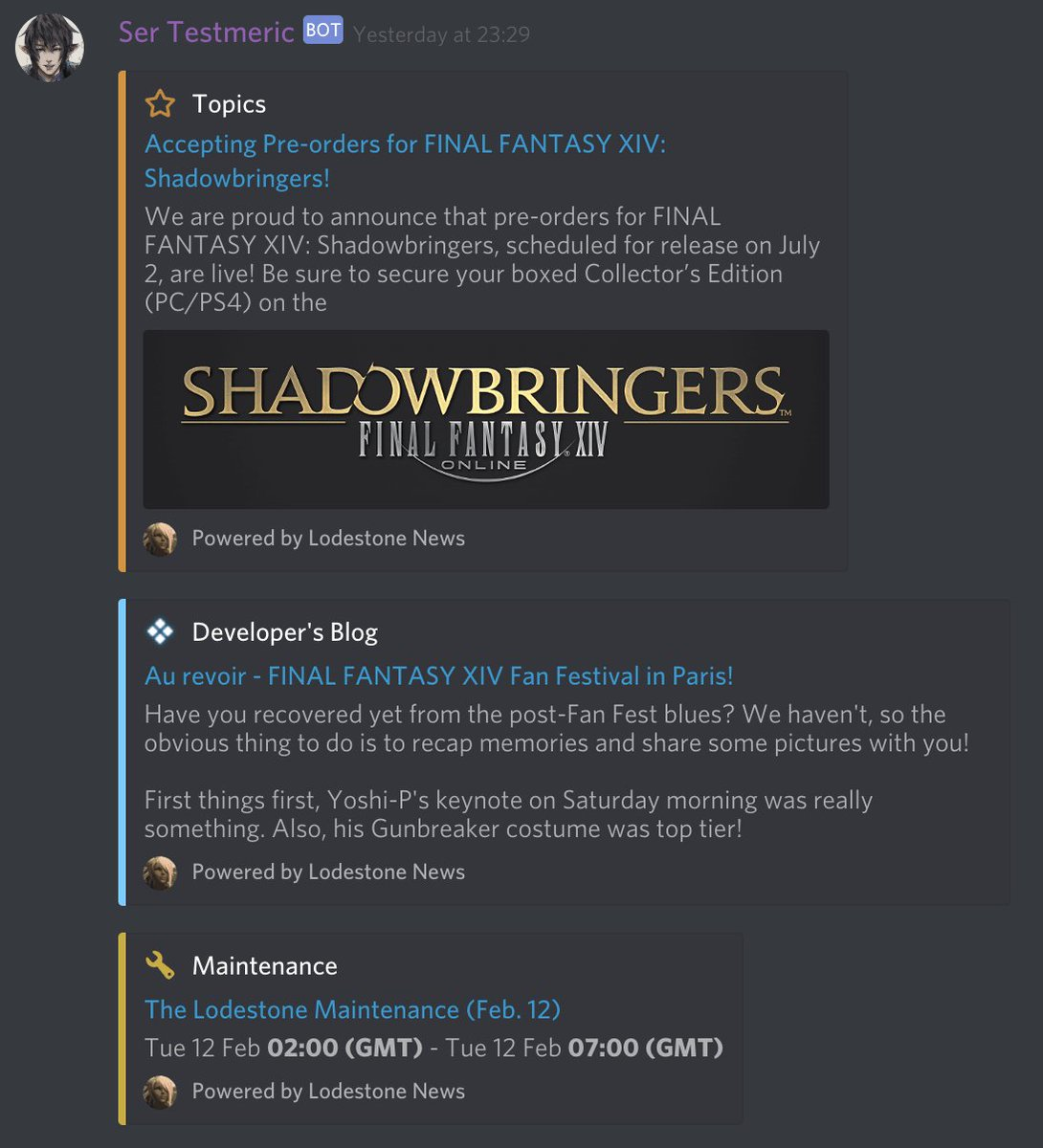 Fflogs Reports