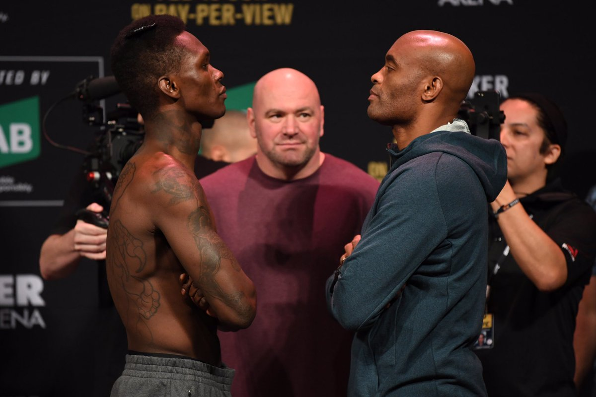 """""""I don't think he's ever fought a troll before. Troll meets troll."""" #UFC234"""