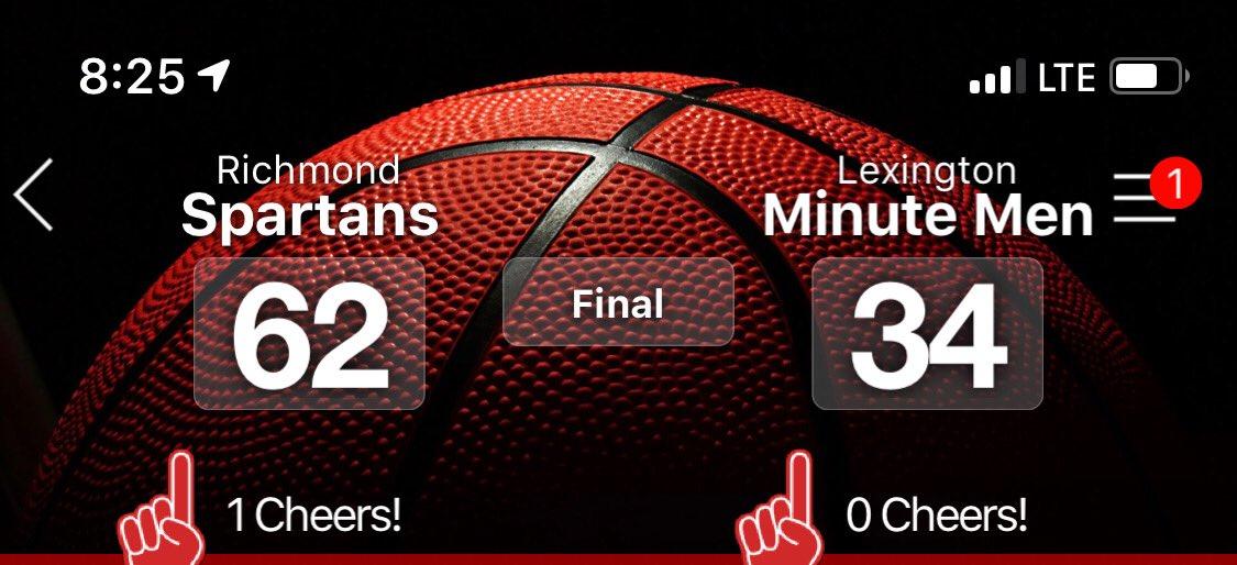 Spartans Win!