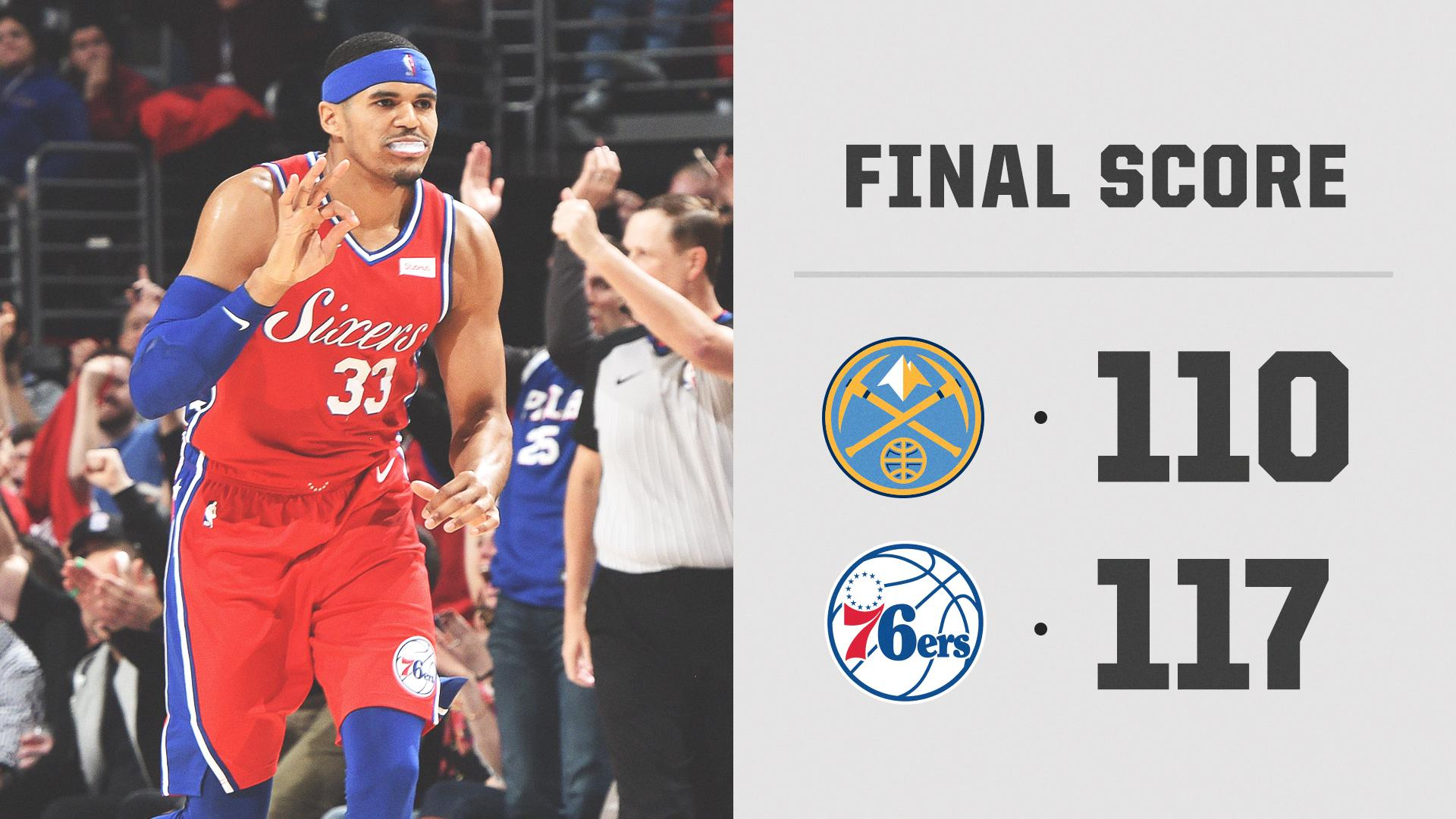 The new-look 76ers are off to a good start. https://t.co/vDpEy4JzEt