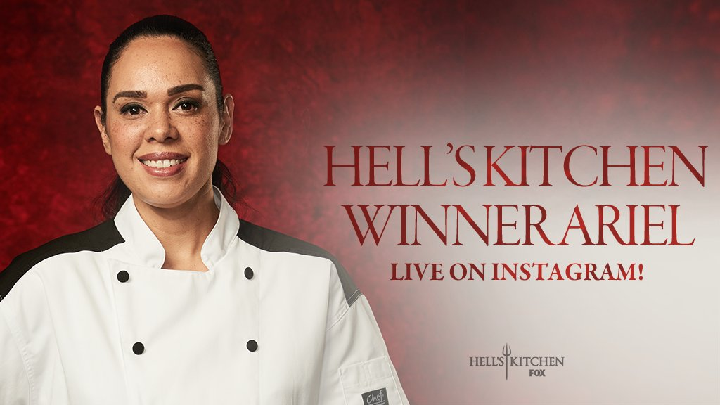 Hell S Kitchen On Twitter Season 18 Winner Chefarielfox