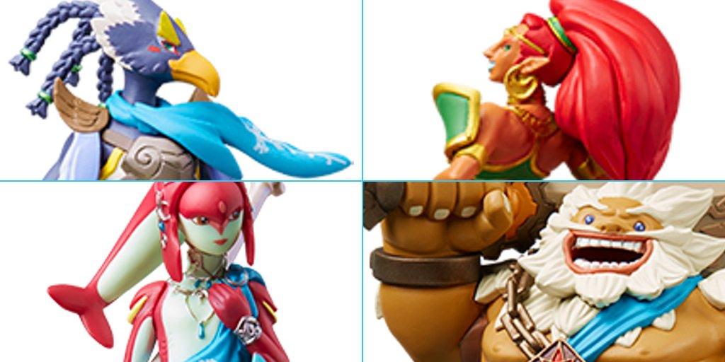 oaktown_matt Wow! A complete set of the Legend of Zelda BOTW
