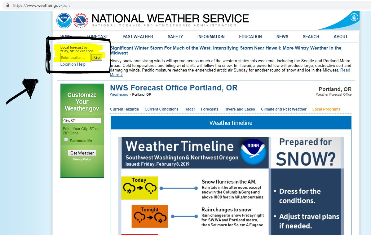 NWS Portland on Twitter: