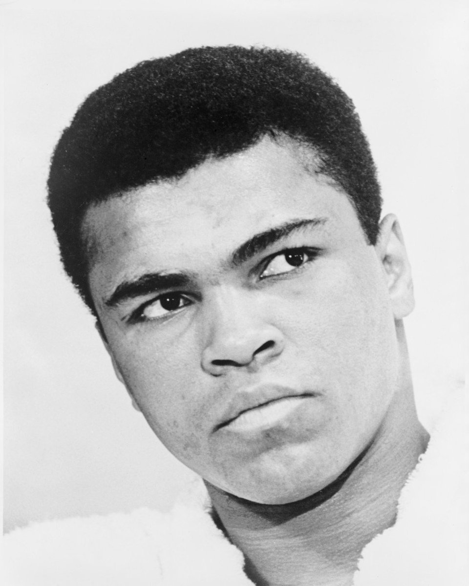 He floated like a butterfly and stung like a bee! Boxer @MuhammadAli won Olympic gold and fought hard outside the ring to shine a light on racial injustice. Called #TheGreatest, he remains a source of pride for the African American community and all Americans #BlackHistoryMonth