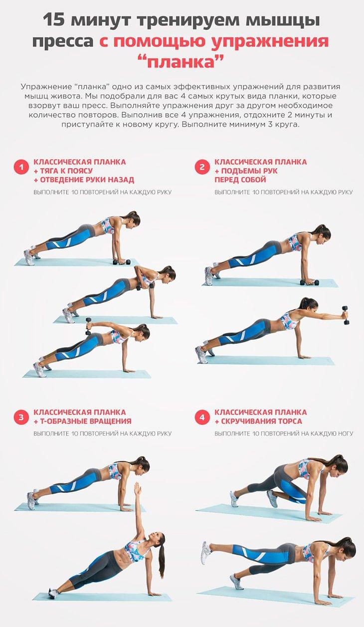 Похудеть С Упражнением Планка. Упражнение планка для похудения