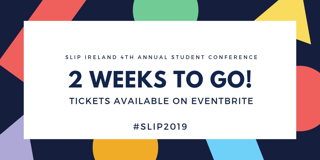 Free Tickets Available For Students To >> Slip Ireland On Twitter Any Plans For This Day Two Weeks You Have