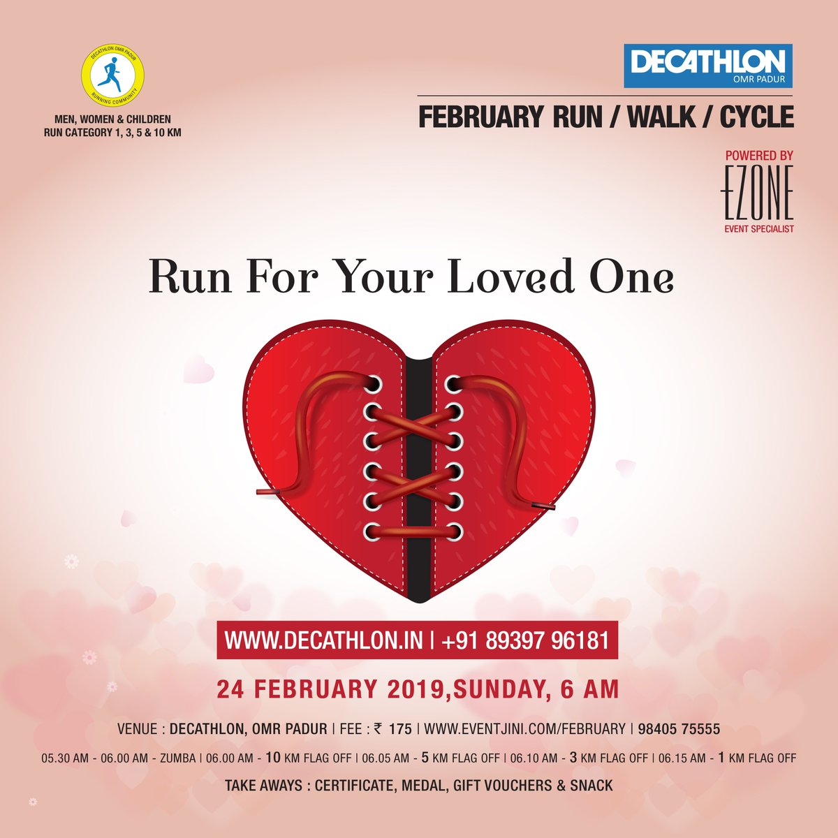 3ec9ad360 The chance to win an amazing gift. Run Walk Cycle with your family and  friends!!! Register Now   https   www.eventjini.com february   employeeENGAGEMENT ...