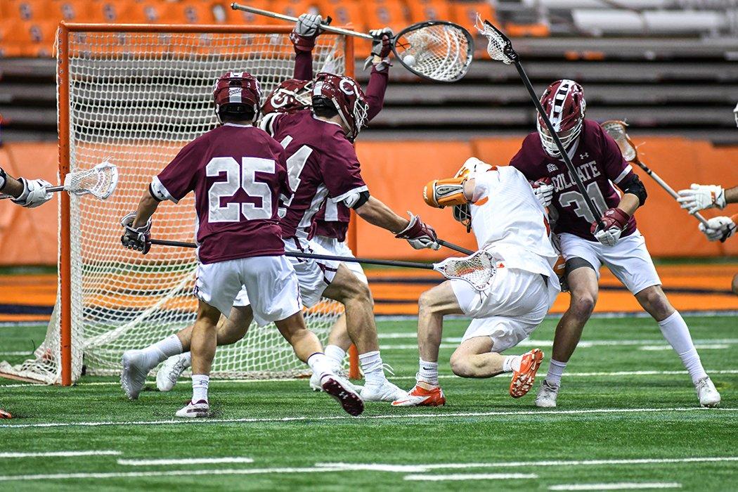 'Cuse falters in lacrosse opener