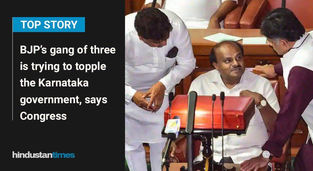 Top story on https://t.co/o0DfqOYtUN right now https://t.co/SiuvkrOvjY  #HTTopStory #Congress #Karnataka