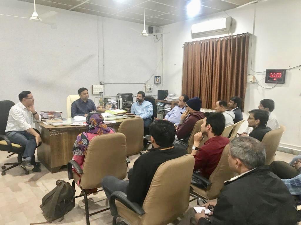 Planning & Discussion about implementation of Pradhan Mantri KIsan SAmman Nidhi (#PMKISAN) yojana with Officers of Dhoraji Subdivision. #PMKISAN  @CollectorRjt  @RajkotDdo