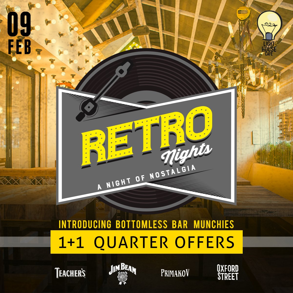 Go back in time to revisit the era of brilliance with our Retro Night along with amazing offers only at Light House Cafe Mumbai  #LHC #Worli #Mumbai #Zomato #Blogpost #bloggers #Weekday #CurlyTales #Weekends #Thingstodo #Mumbaifoodie #Foodgasm #mumbaifood #indianblogger