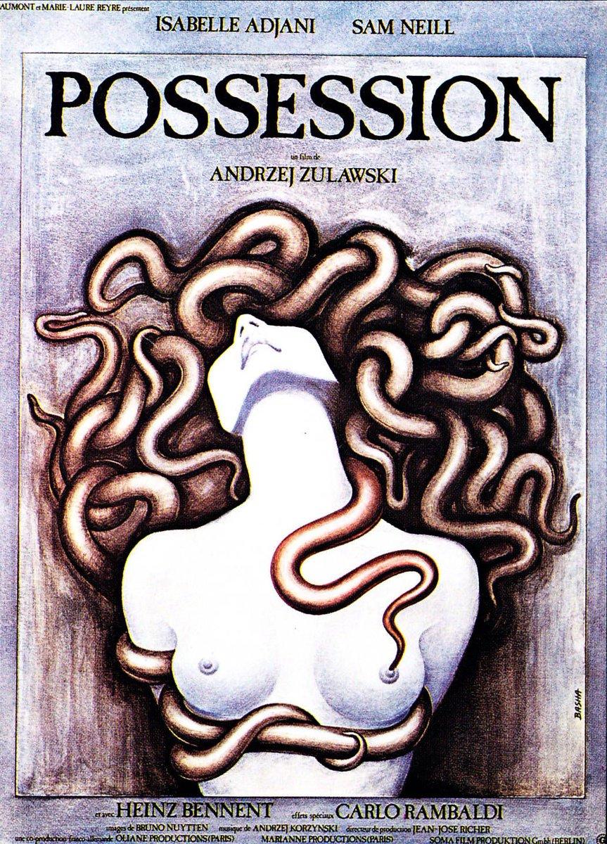 """Bobby Castro en Twitter: """"Poster art for Zulawski's 'Possession' (1981)… """""""