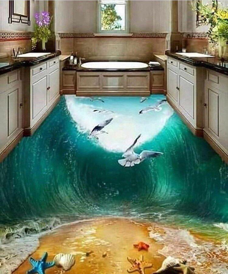 андерсон обычные фотообои под наливной пол есть мода