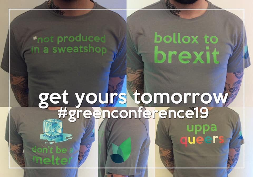 test Twitter Media - Here @GreenPartyNI conference @TheMACBelfast early starts to change the world :) let me know if ya want any merch ;) #greenconference2019 #merch #artsmatterni @oharamal #northisnext https://t.co/naEBR4QZ5d