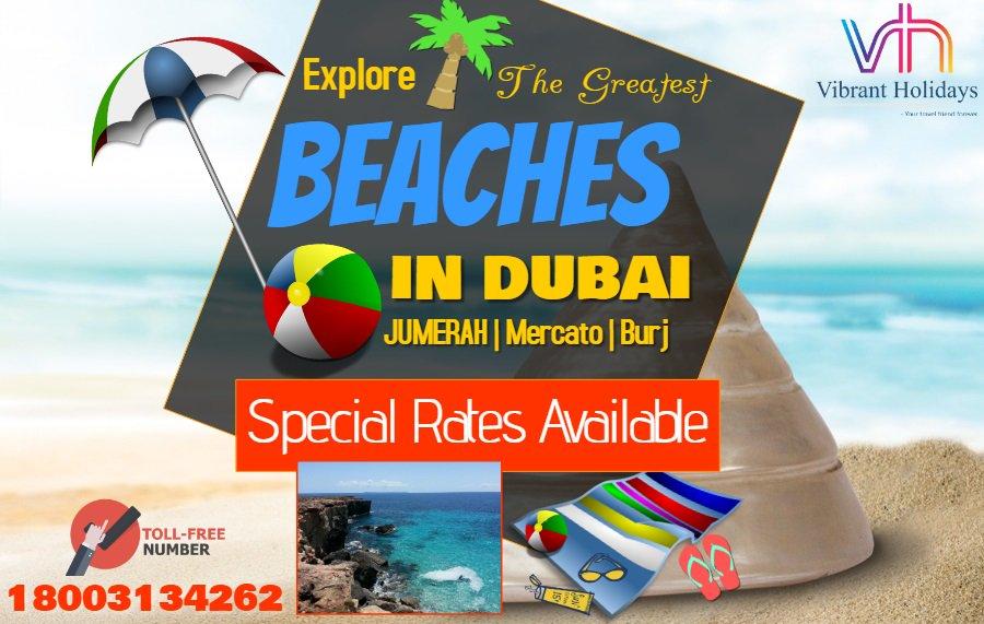 Best Deals On #DubaiPackage Explore the famous beaches of #Dubai  #HolidayinDubai pic.twitter.com/KzxqT05Pyd