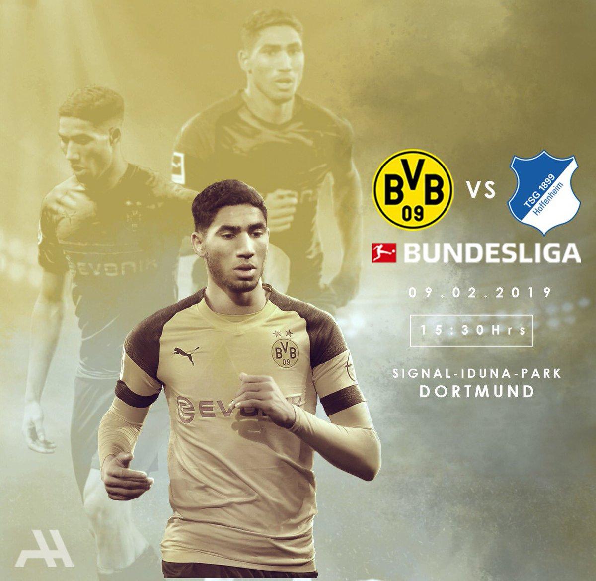 🏆 Bundesliga  🆚 TSG 1899 Hoffenheim 🏟  Signal Iduna Park 🗓️ Saturday, February 9th ⏰ 15:30 ⚽️🐝 #BVBTSG