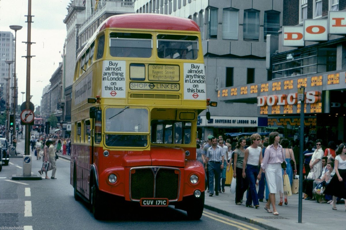 Dy9gCK2XgAA9U   - London's Shop Linker bus anniversary