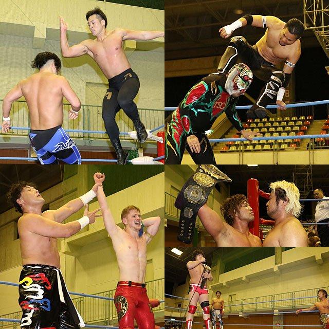 "AJPW: ""Jr. Battle of Glory 2019"" Día 3 - Gran inicio de TAJIRI 6"