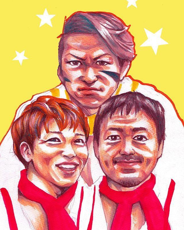 RT @nikaidoayano: 仙台セーラーボーイズ描いた #njnbg #njpw #キープオンジャーニー https://t.co/Q5QOq1YE3M