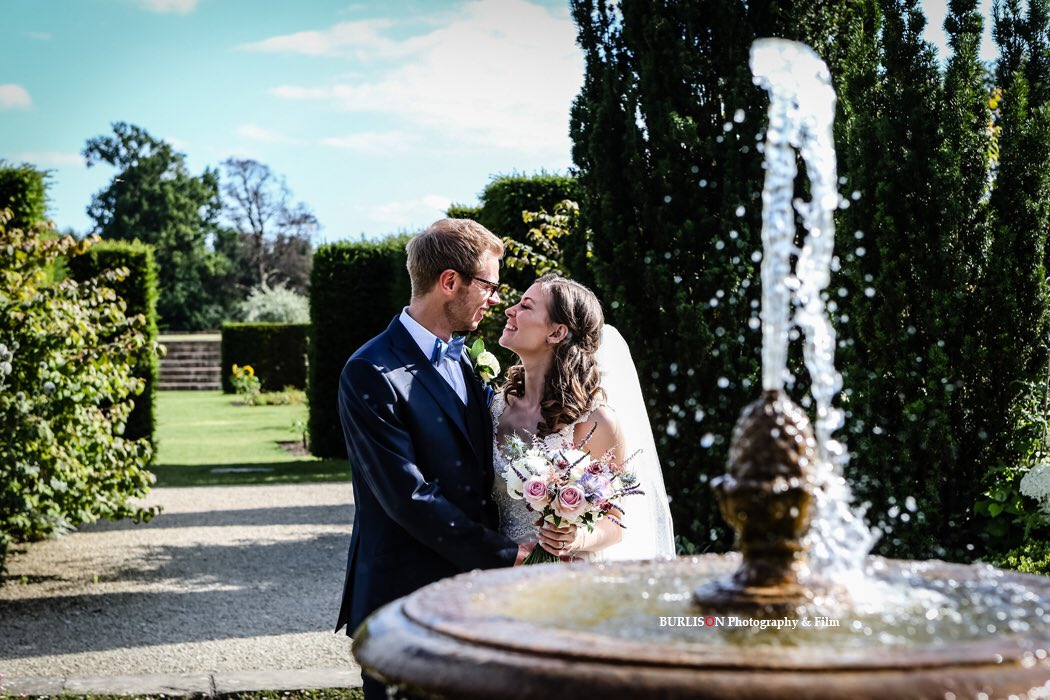 RT @BURLISONphoto The White Garden st @LoseleyPark makes a wonderful setting for our #bride #groom