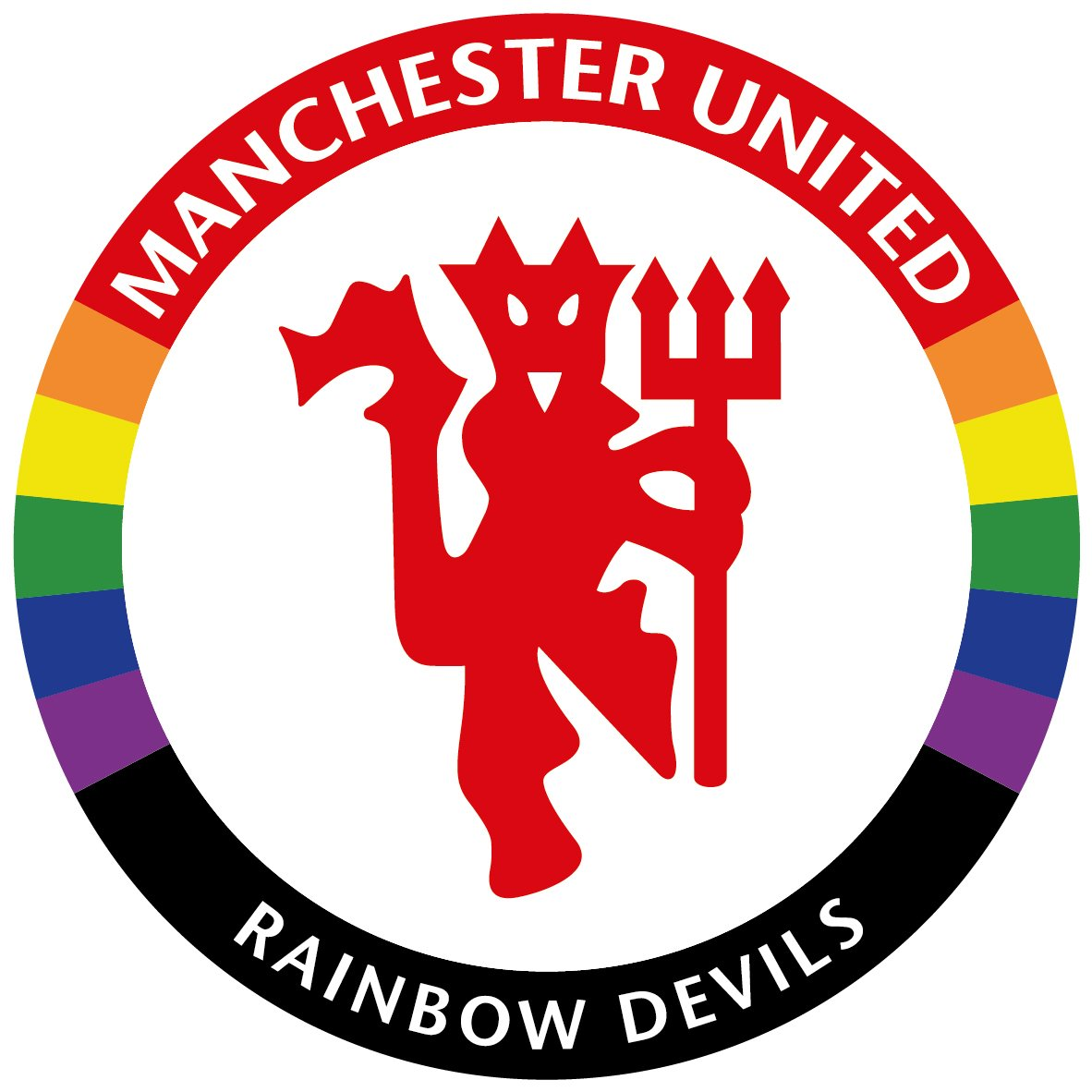 It's official! Really exciting to hear about the launch of #TeamPride partner @ManUtd's LGBT Supporters Group @RainbowDevils! #allredallequal #MakeSportEveryonesGame #RainbowLaces