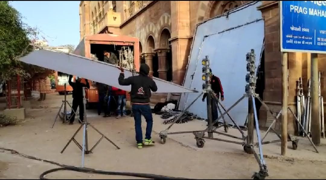 Shooting of the biopic on PM Modi held in Bhuj