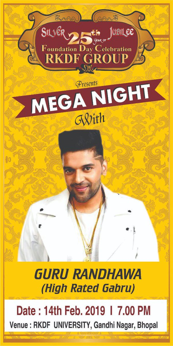Hi Bhopal, first time in your city on 14th Feb 🙏 Let's make history 🙏