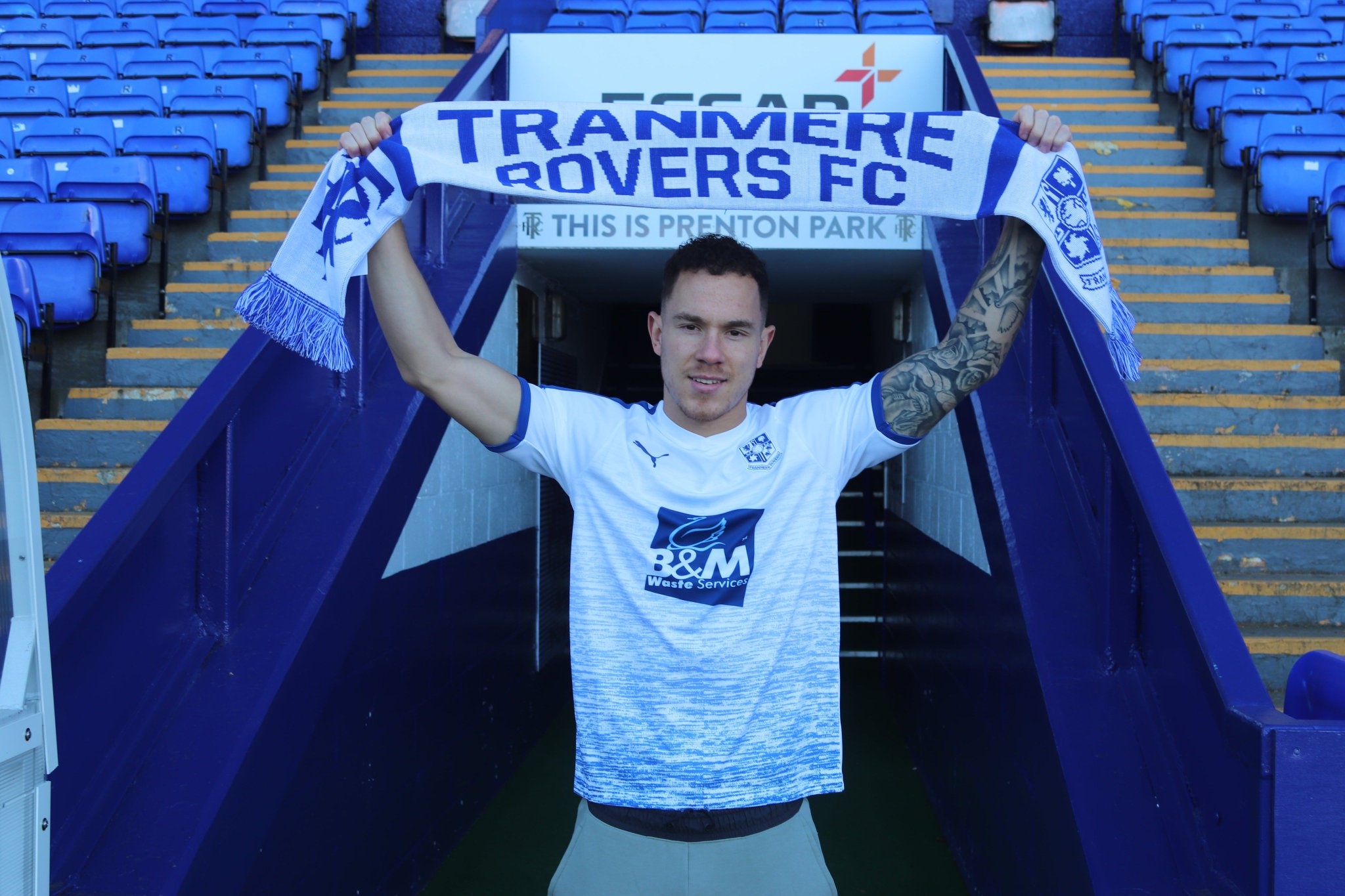Kieron Morris Joins Tranmere Rovers on Loan Until the End of the Season