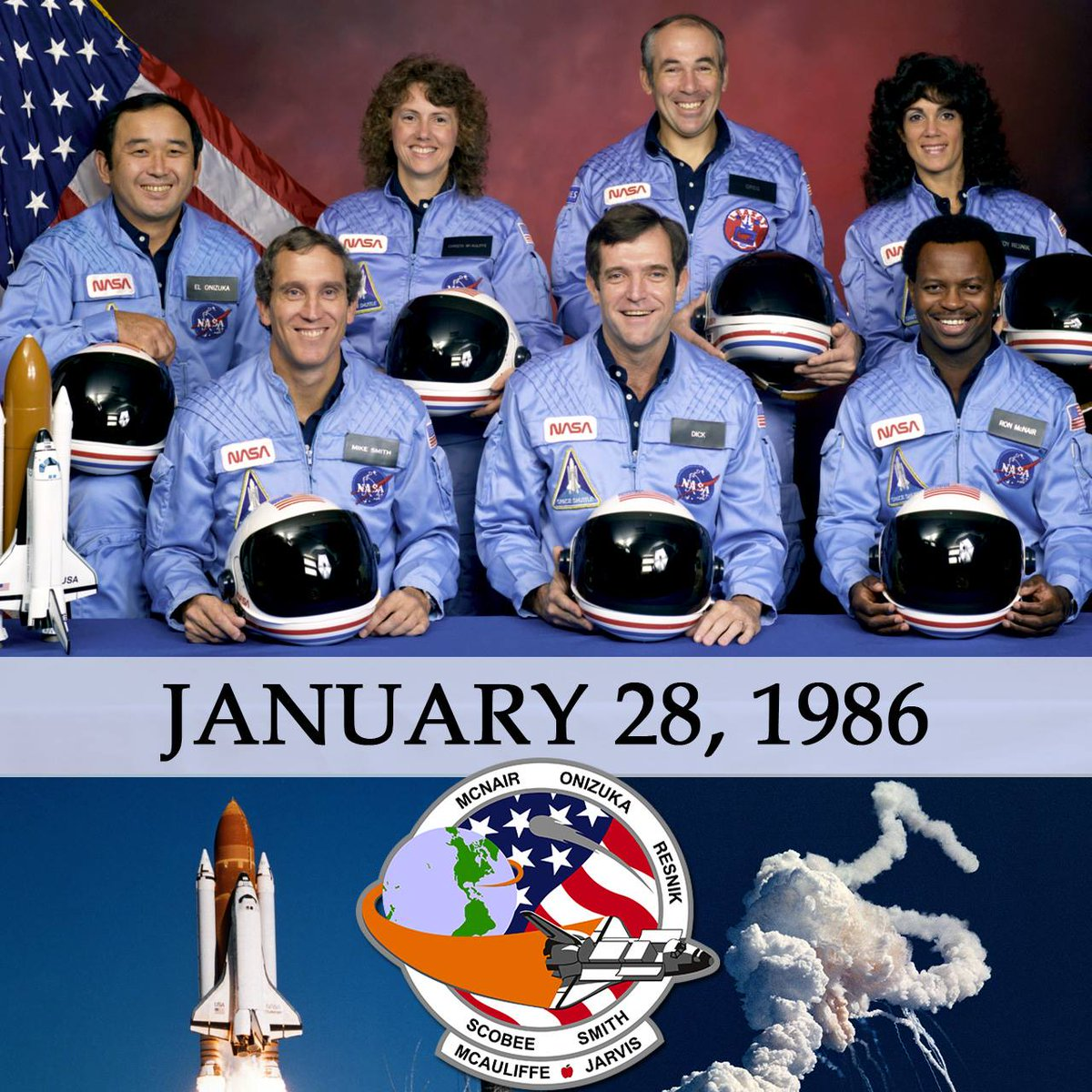 space shuttle challenger 33 years ago - photo #22