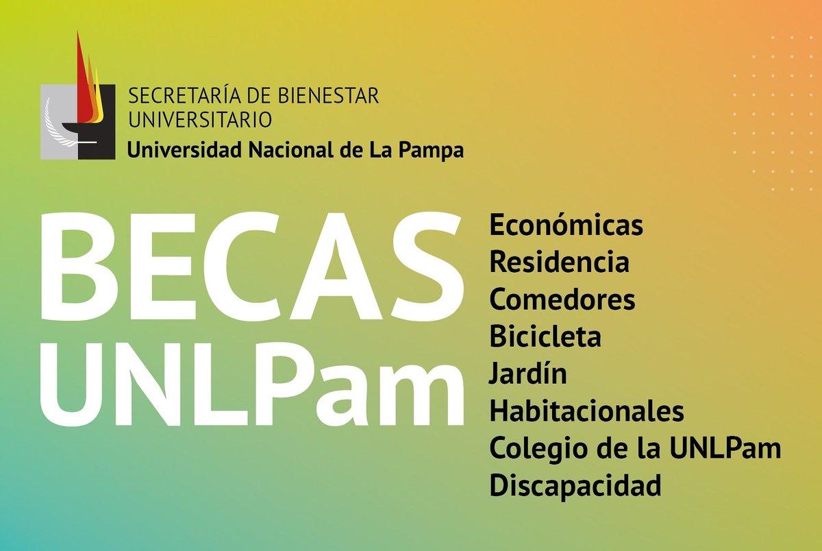 #UNLPam | Del 4 al 13 de febrero se podrán solicitar Becas