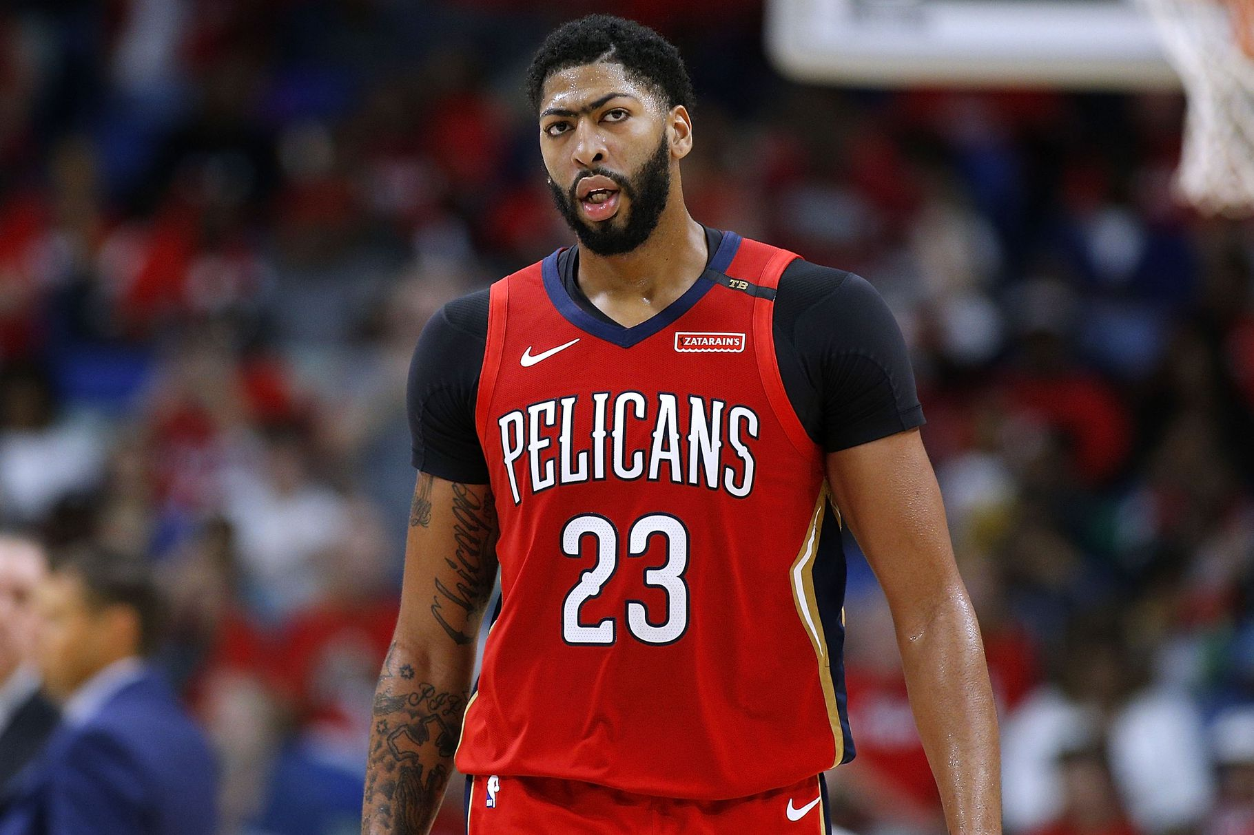 Def Pen Hoops On Twitter Anthony Davis Requests Trade From