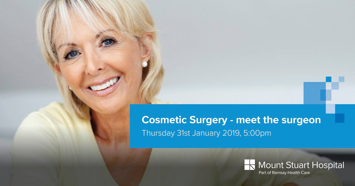 Considering cosmetic surgery? You want to be sure you make the right choice with a hospital and surgeon you can trust. Come along to our cosmetic surgery event at Mount Stuart Hospital in Torquay where you will have the opportunity to meet Mr David Oliver. https://t.co/BuIqL31Lno https://t.co/N5Fdx0mrnE