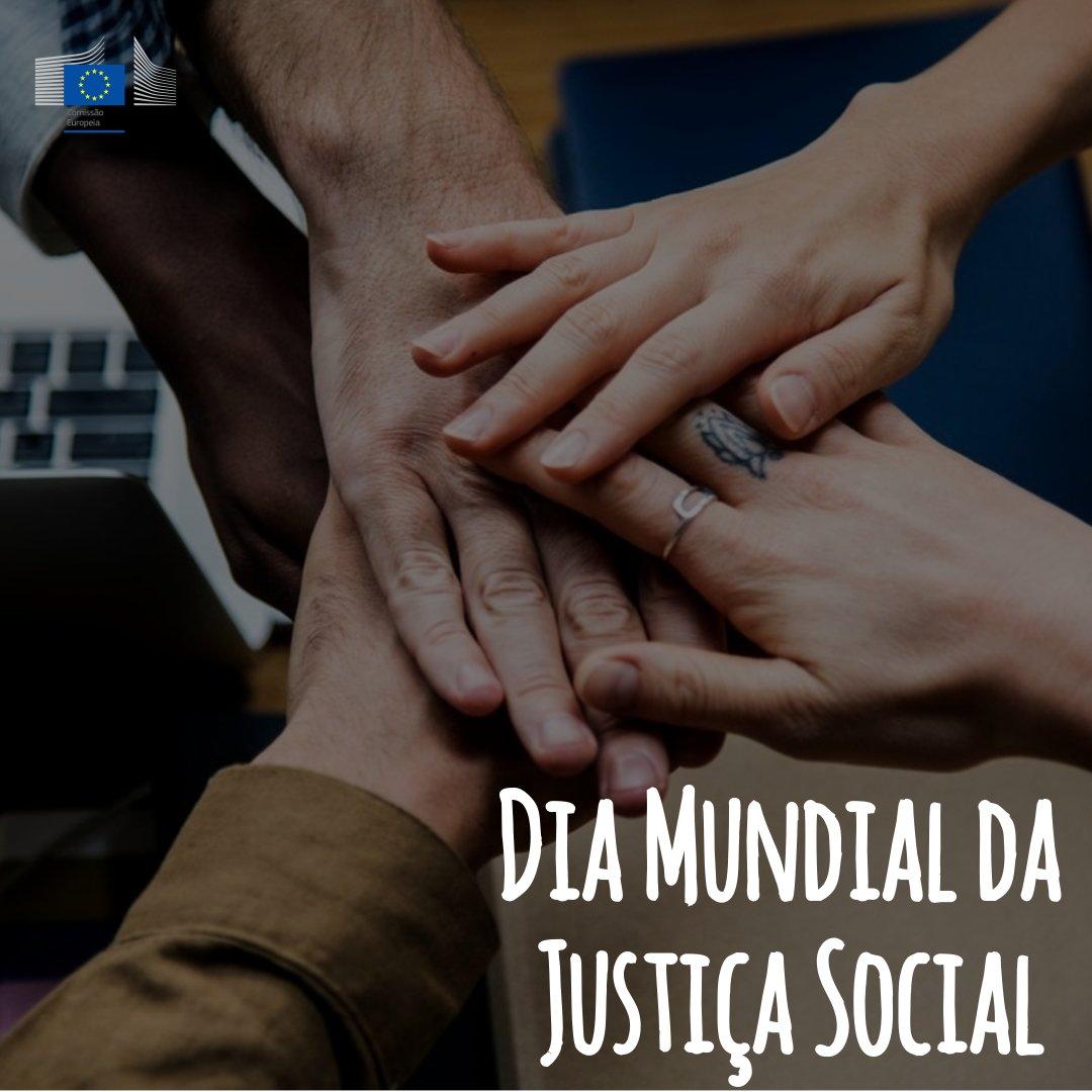 No Dia Mundial da Justiça Social recordamos que o objetivo do Pilar Europeu dos Direitos Sociais é conferir aos cidadãos novos direitos, mais eficazes  👉 https://t.co/wykeXlzRe1 #SocialRights  #SocialEurope