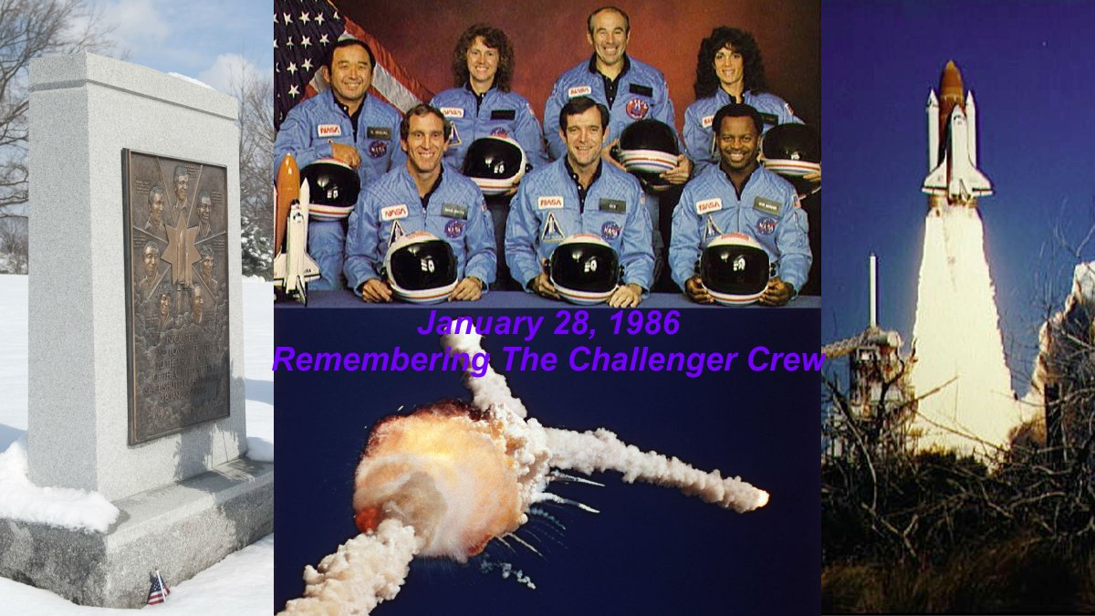 space shuttle challenger 33 years ago - photo #13