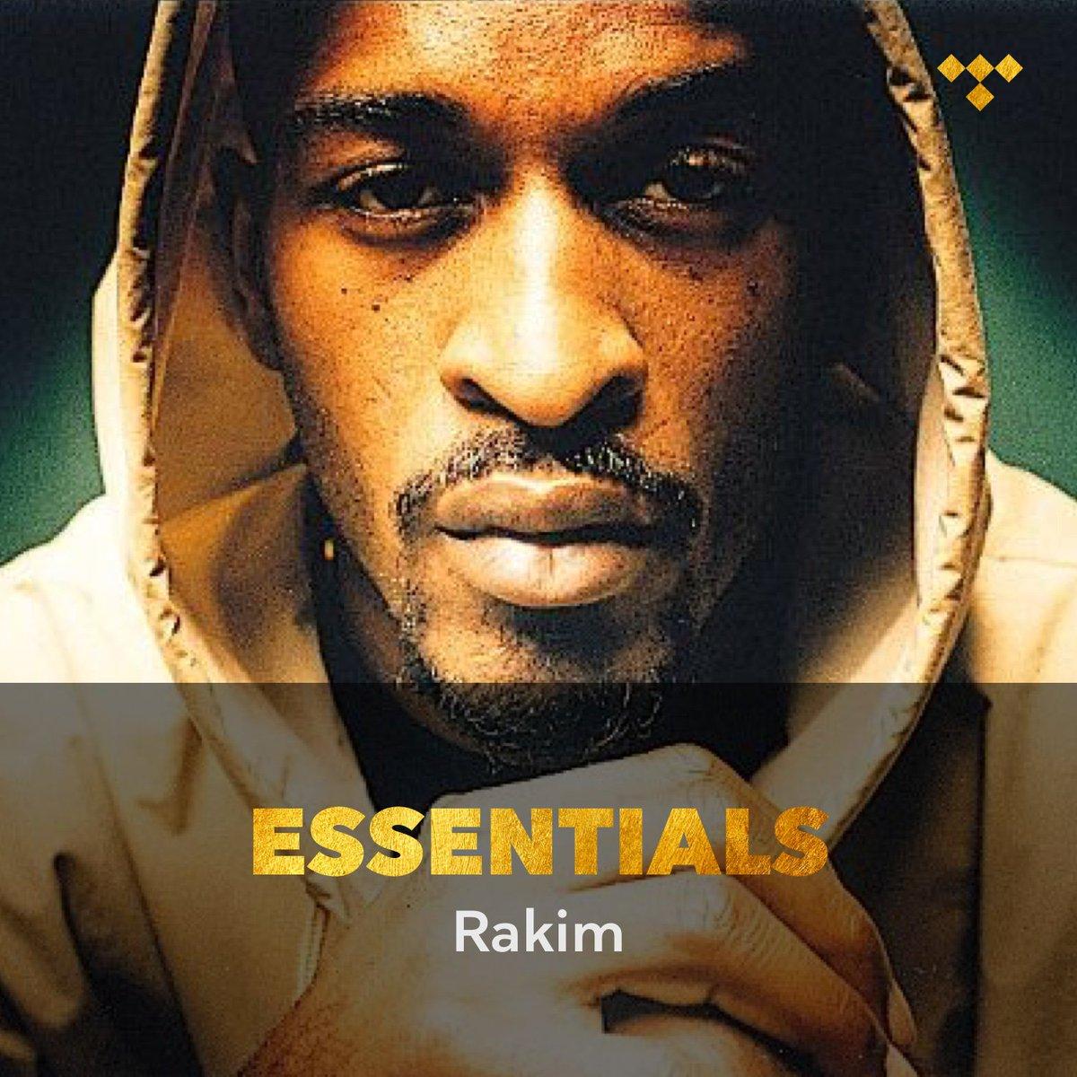 ca1fe80589517 rakim essentials tidal