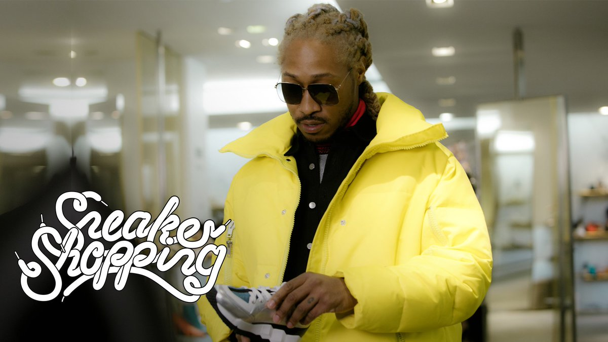 """Fresh off a #1 album, we link up with @1future for a brand new episode of """"Sneaker Shopping.""""   WATCH: https://youtu.be/ajTuRQtm-eo"""