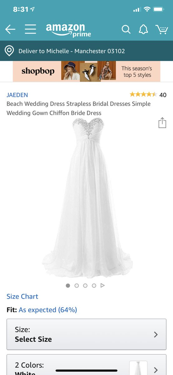 Summer wedding dress? https://t.co/bAPsp18oEP
